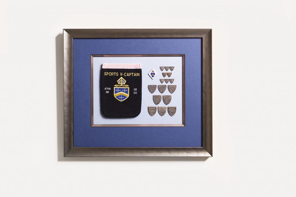 medal memorabilia framing